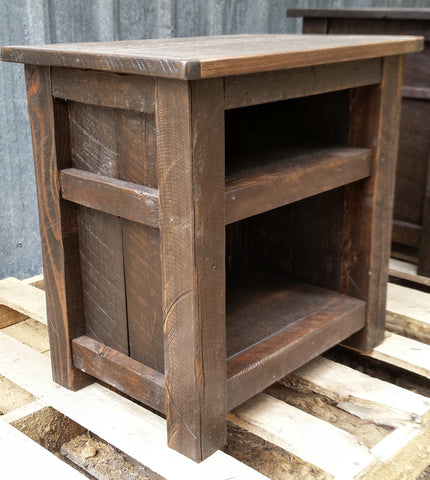 Endtable Rustic Brown