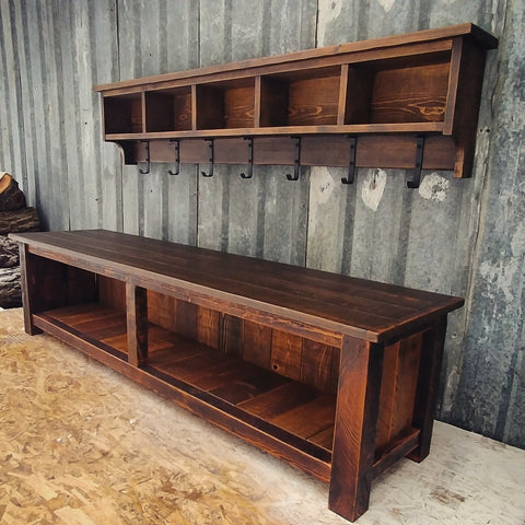 Farmhouse Modern Bench Set