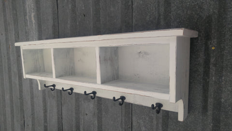 XX**Custom Shelf Cubby and Coat Racks for Paula in VT**XX