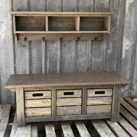 XX** Custom Bench and Shelf Cubby Set for Isaac **XX