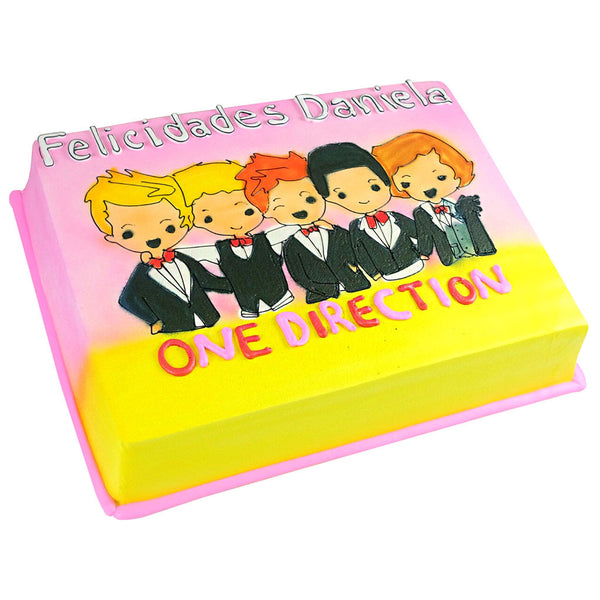 Pastel One Direction - Económico
