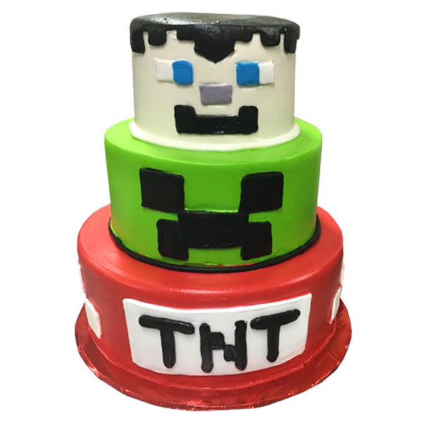 Decorado Especial Minecraft TNT