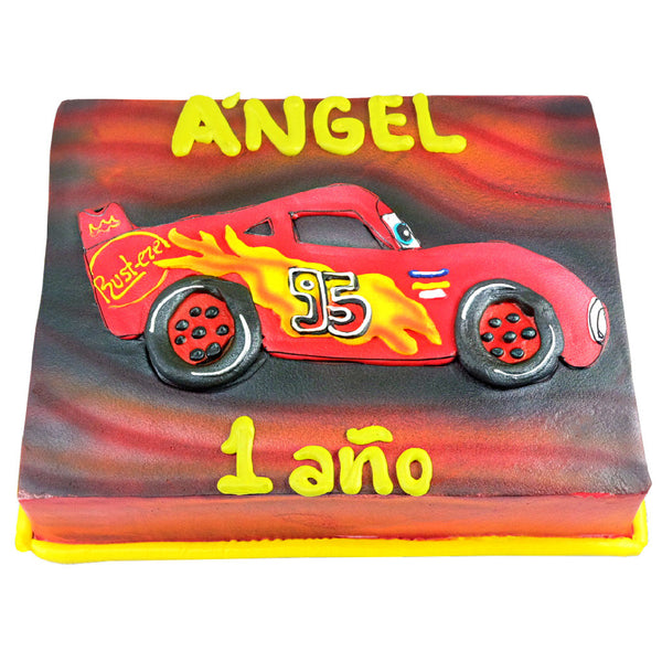 Pastel Cars Rayo McQueen Perfil