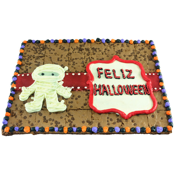 Brownies Halloween Momia