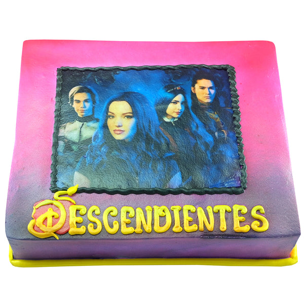 Pastel Descendientes 3