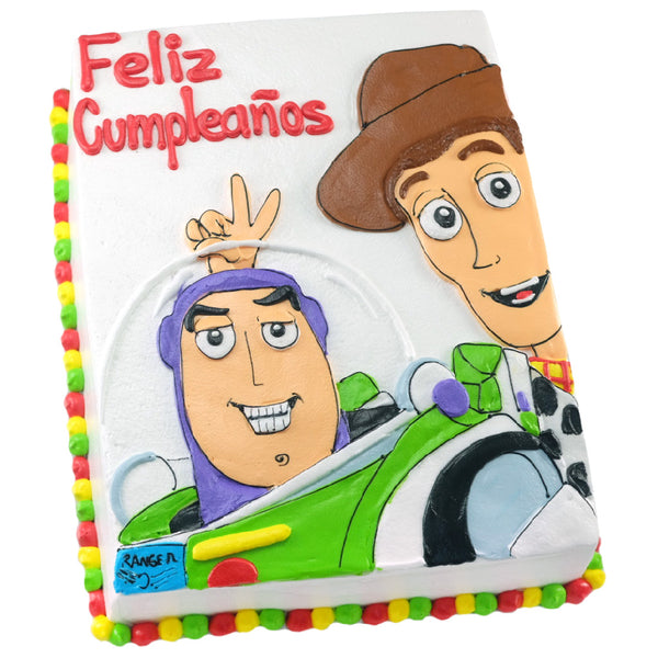 Pastel Toy Story Buzz y Woody