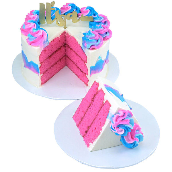 Gender Reveal Cake (Niña)
