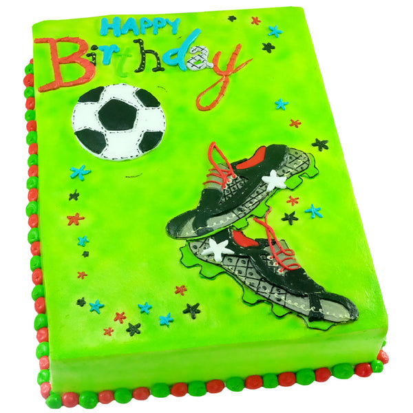 Pastel Happy Birthday Fútbol