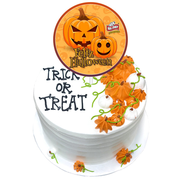 Pastel Trick or Treat