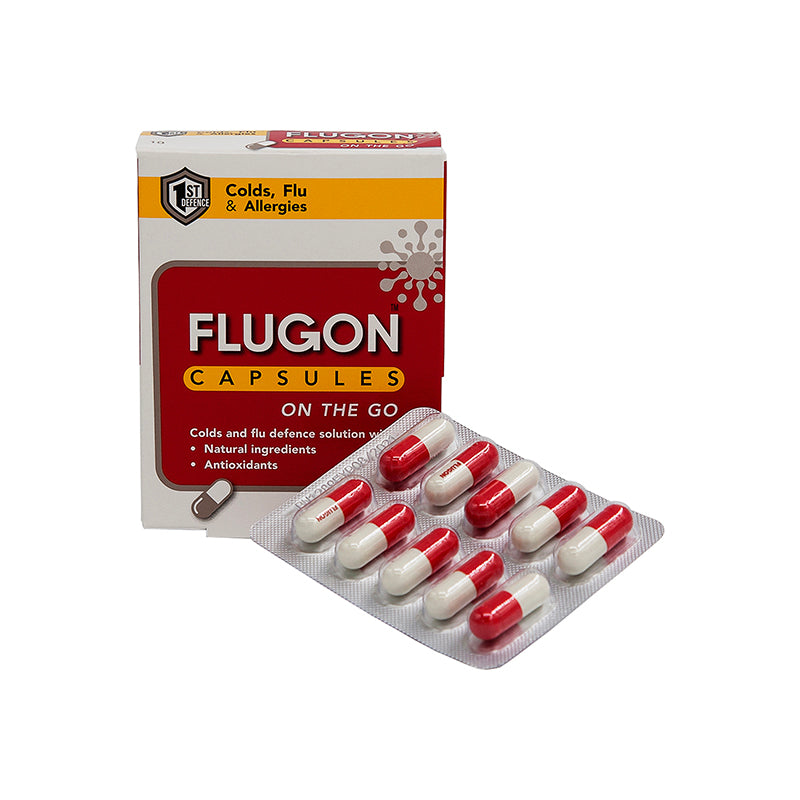 Flugon On The Go 10 Capsules