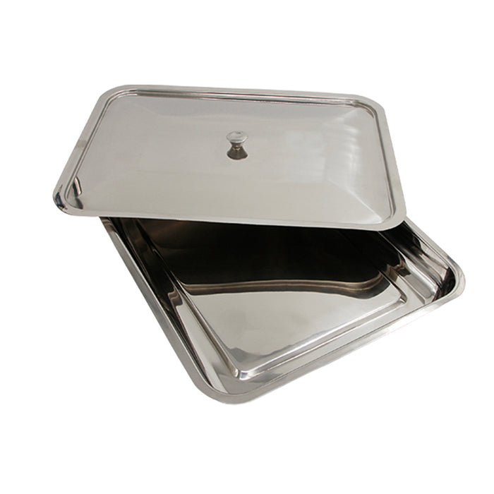 Instrument Tray Stainless Steel with Lid
