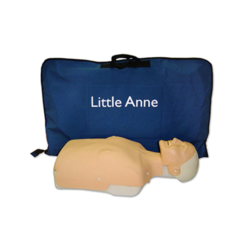 Little Anne QCPR with LCD Skill Guide