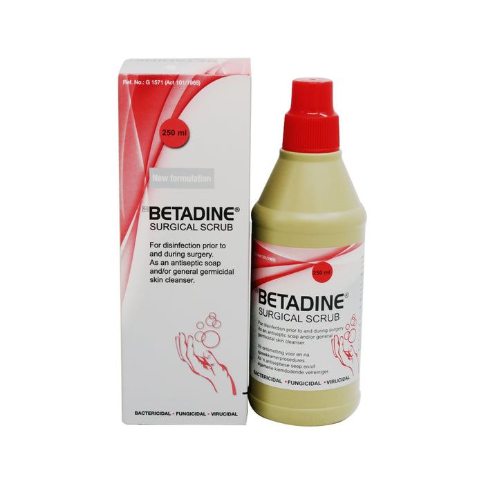 Betadine Surgical Scrub 250ml
