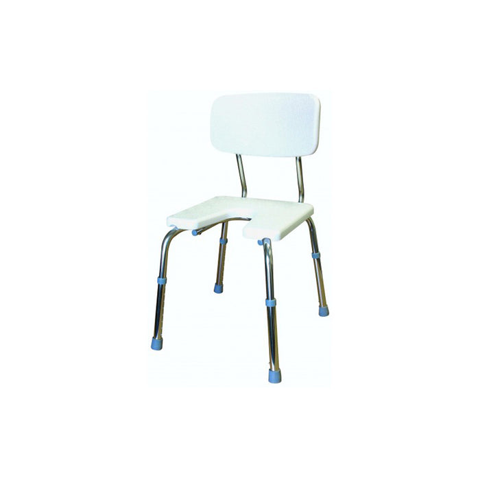 Shower Chair U-shape seat with Back
