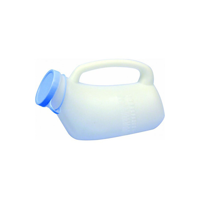 Urinal Male Flat with Handle