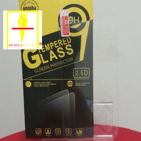 (Clear) iPhone Tempered Glass