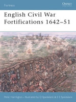 English Civil War Fortifications , 1642-51, by Peter Harrington