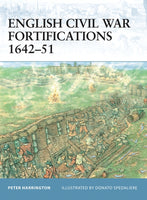 English Civil War Fortifications 1642-1651 by Peter Harrington