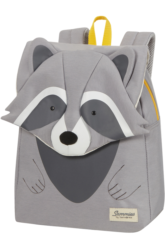 Happy Sammies Eco  Backpack S+ Raccoon Remy
