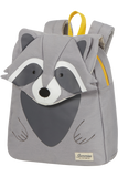 Happy Sammies Eco  Backpack S Raccoon Remy
