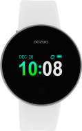 Oozoo Smartwatch  Q00101 white-Silver