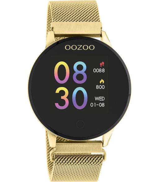Oozoo Smartwatch  Q00121  gold