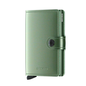 Secrid Miniwallet Metallic green