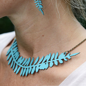 Leather Jewellery Love - Necklace