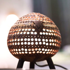 Coconut lamp - Standing