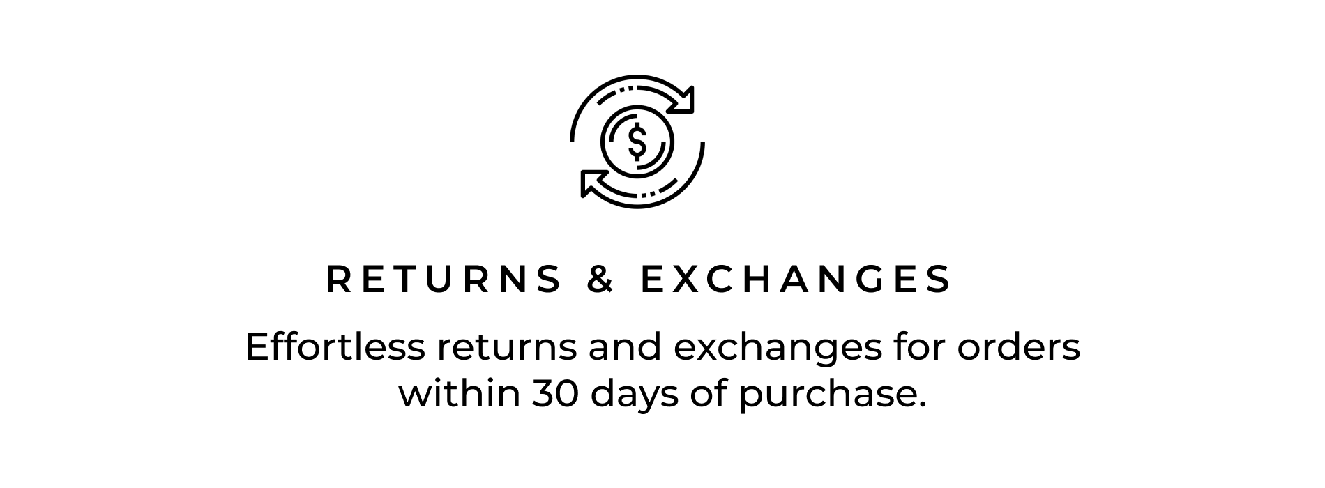 Returns & Exchanges icon