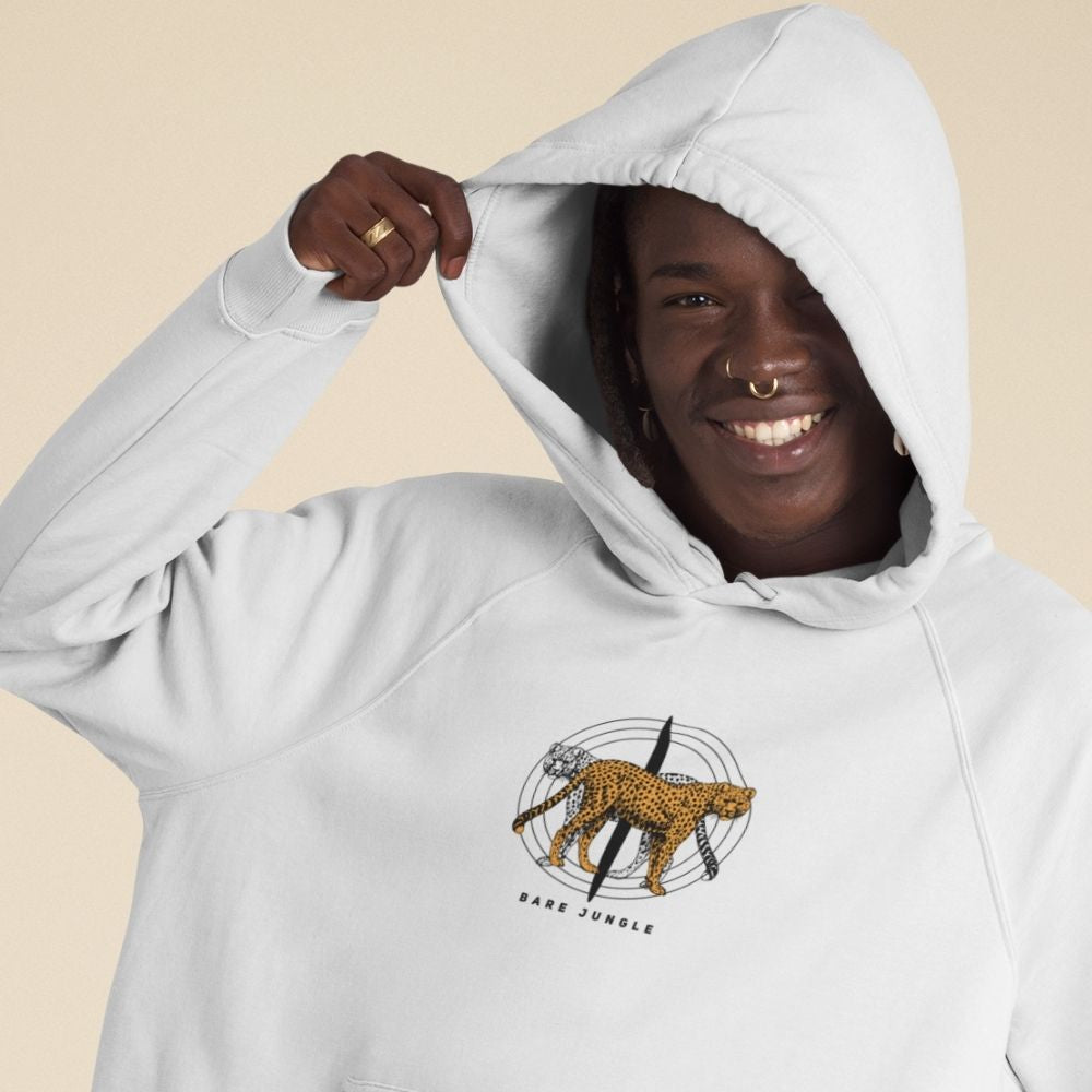 Bare Jungle organic hoodie in multiple colors