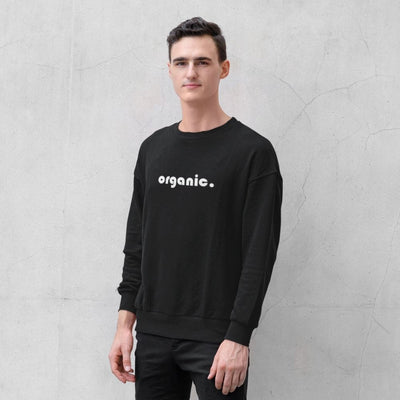 Abare Organic sweatshirt in black