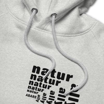 Nature Ally organic hoodie in gray