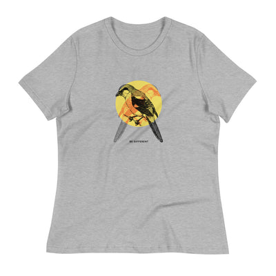 Grey shirt with bird design