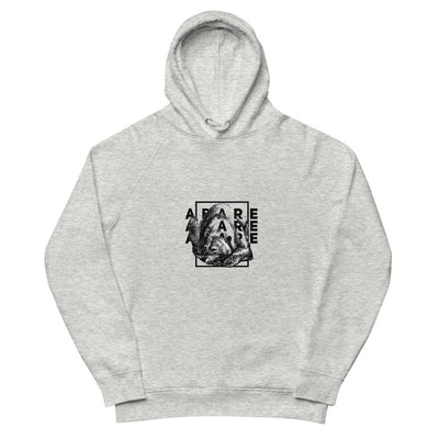 Forest Vibes organic hoodie in gray