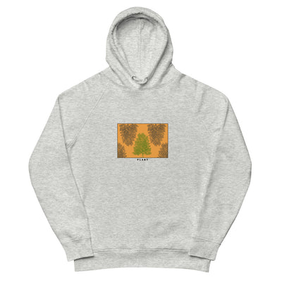 Flora Glow organic hoodie in multiple colors