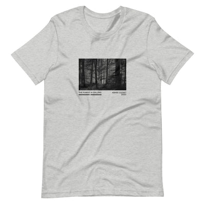 Grey shirt with forest design