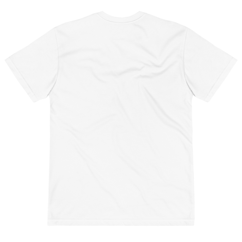 White t shirt with tree logo