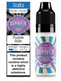 Dinner Lady Purple Rain Nic Salt - Vapepit
