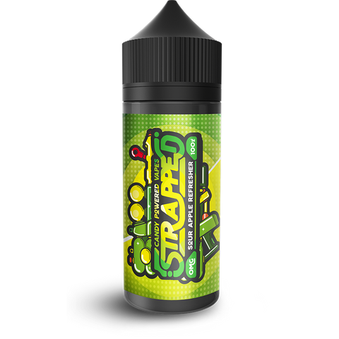 Strapped Sour Apple Refresher - Vapepit