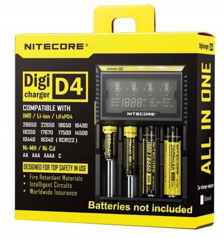 Nitecore Digicharger D4 - Vapepit