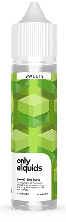 Only Lime Burst Sweets - Vapepit