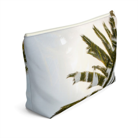 Hawaii Mirrored 02: Zipper T Bottom Pouch