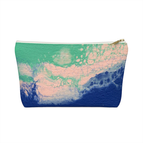 Lost In The Waves 01: Zipper T Bottom Pouch