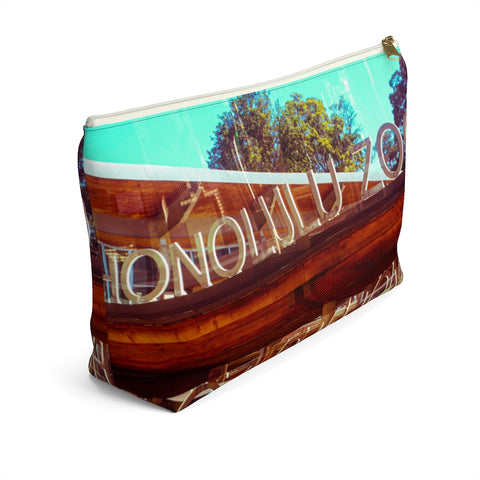 Hawaii Mirrored 03: Zipper T Bottom Pouch