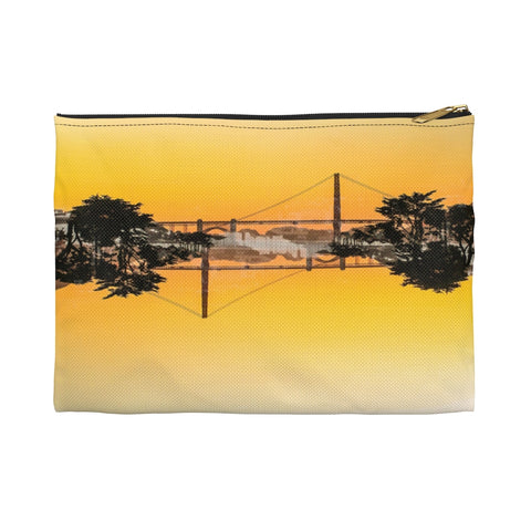 Golden Gate Mirrored 03: Zippered Accessory Pouch