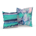 Daydreaming In The Spring 01/02: REVERSIBLE Throw Pillow
