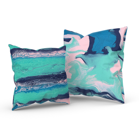 Daydreaming In The Spring 01/03: REVERSIBLE Throw Pillow