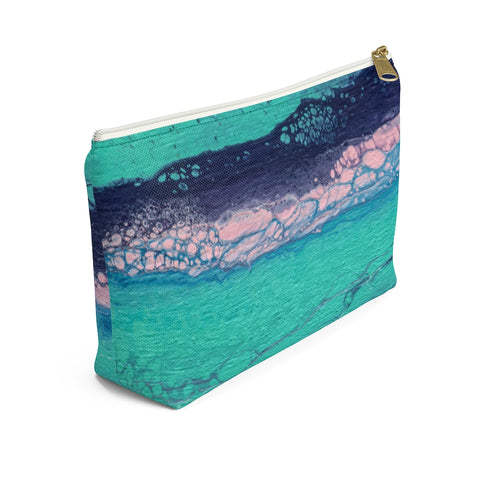 Daydreaming In The Spring 01 Zipper T Bottom Pouch