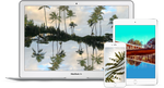 Hawaii Mirrored: Digital Wallpaper Download